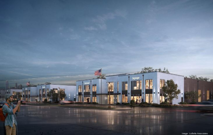Construction starts on west-side commercial project, South ...