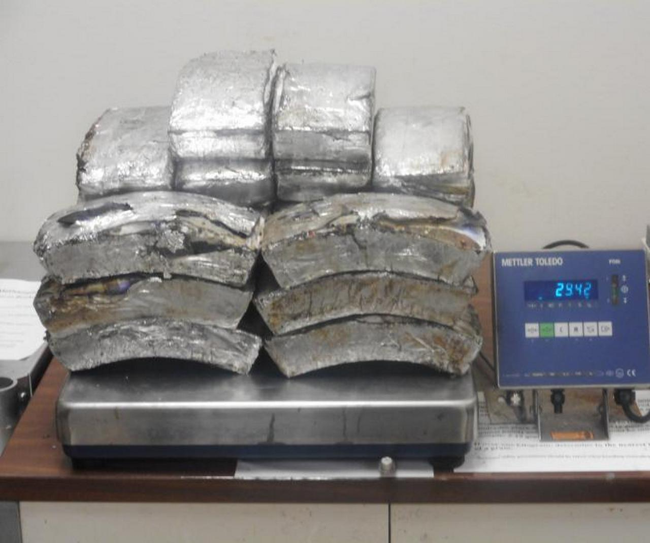 Border Patrol officers seize nearly $1.3 million in meth at Texas crossing
