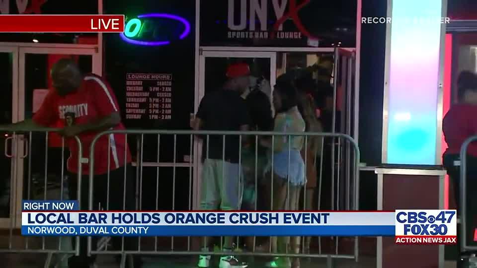 Orange Crush continues across Jacksonville; Councilwoman Ju'Coby Pittman welcomes festival-goers