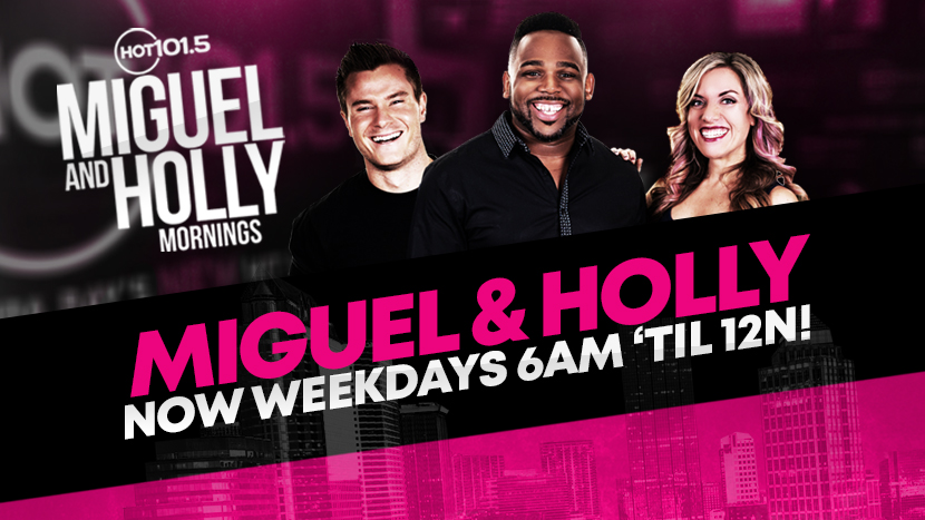 Miguel and Holly Mornings