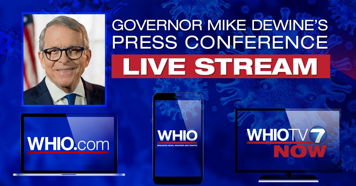 HOW TO WATCH: Gov. Mike DeWine to hold COVID-19 news conference Thursday afternoon