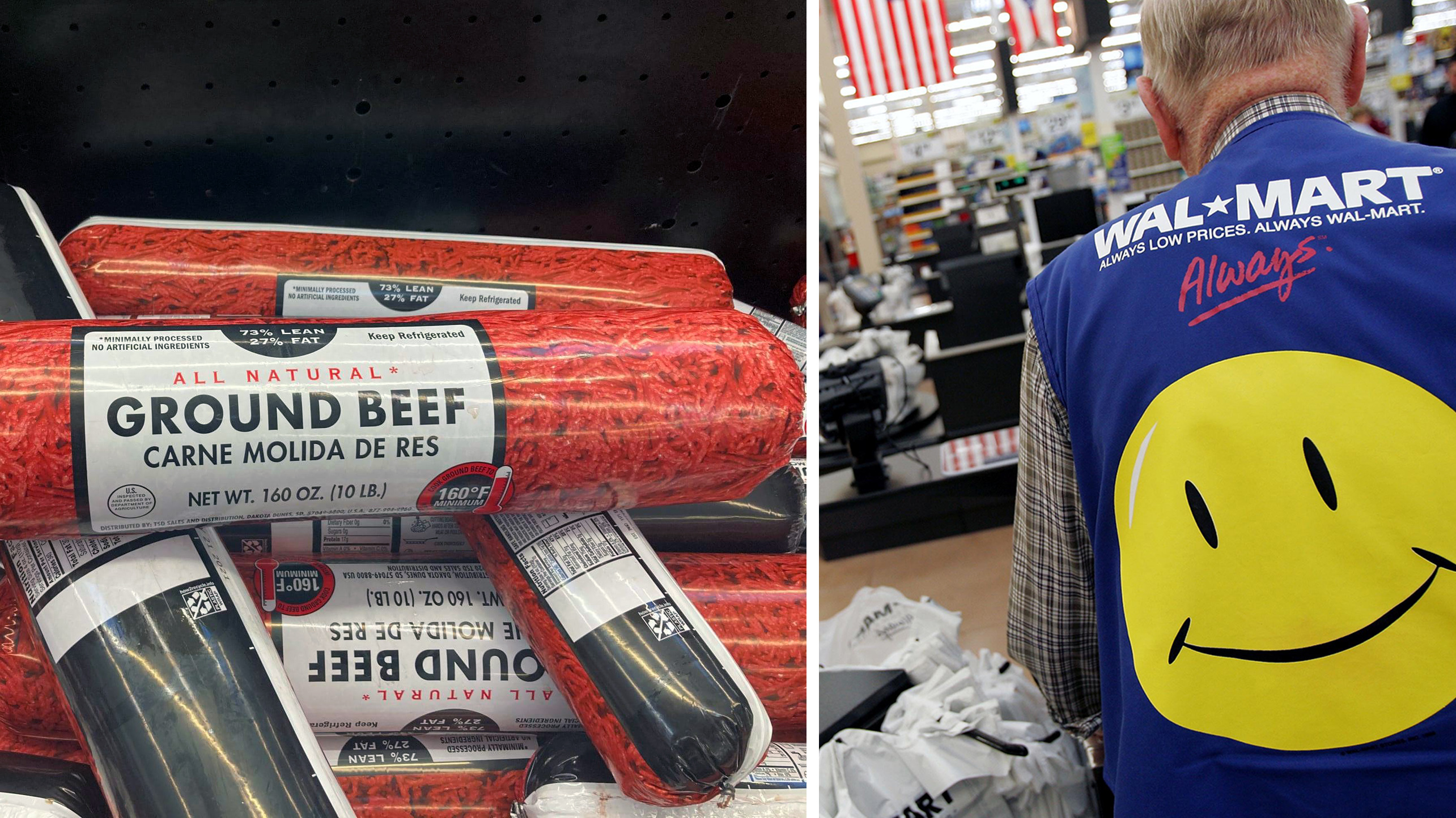 Walmart beef: Fight in store leads to Ohio woman's assault with 'log of prepackaged meat'