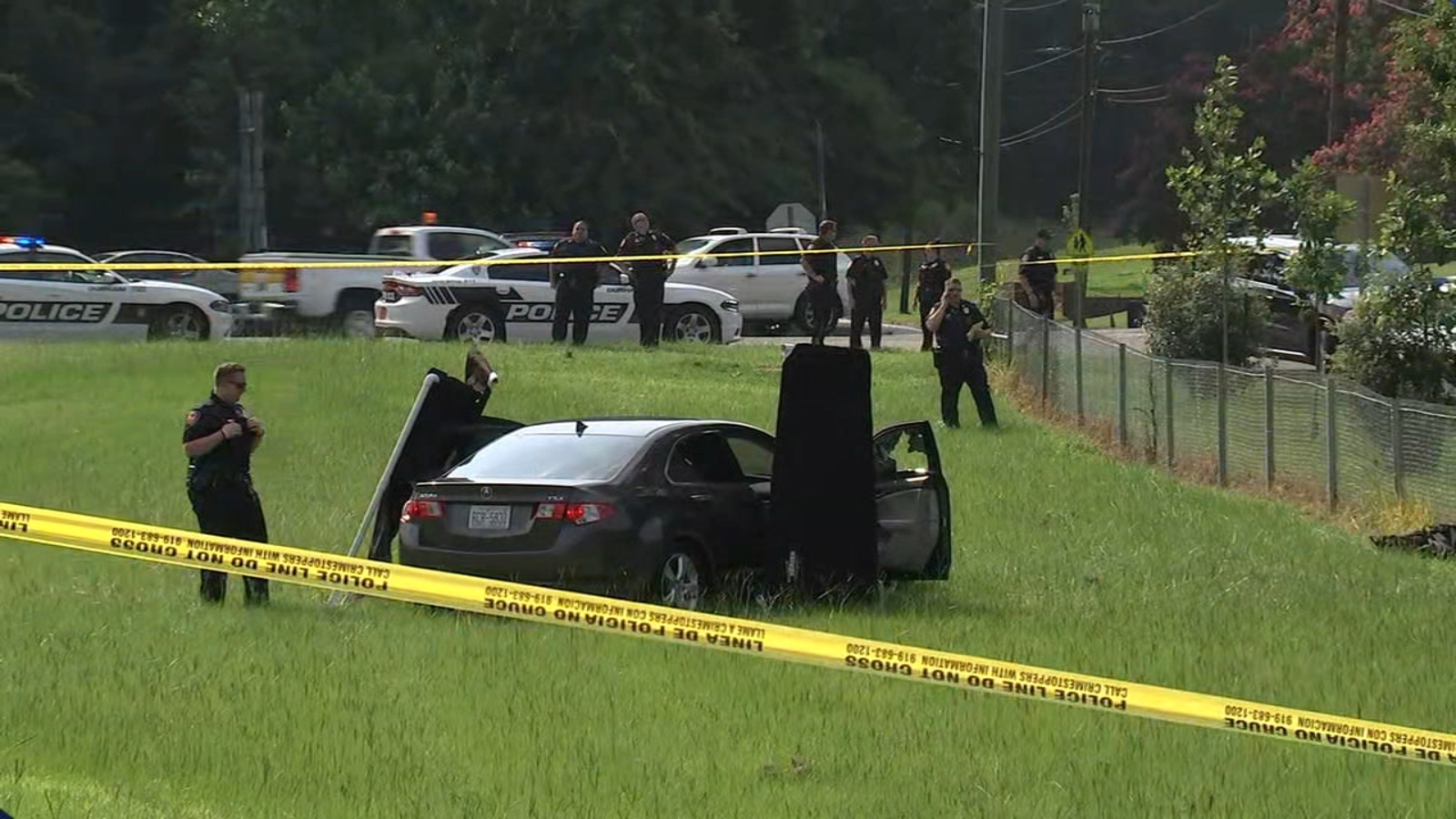 Police: 2 dead after interstate shooting in North Carolina