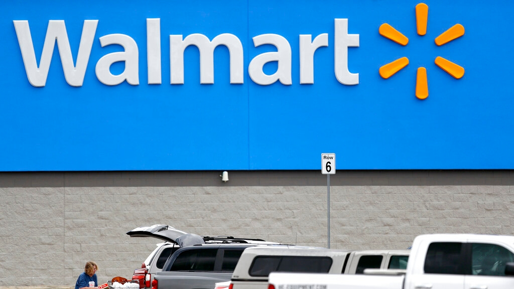 Walmart asks customers to use credit, debit cards...