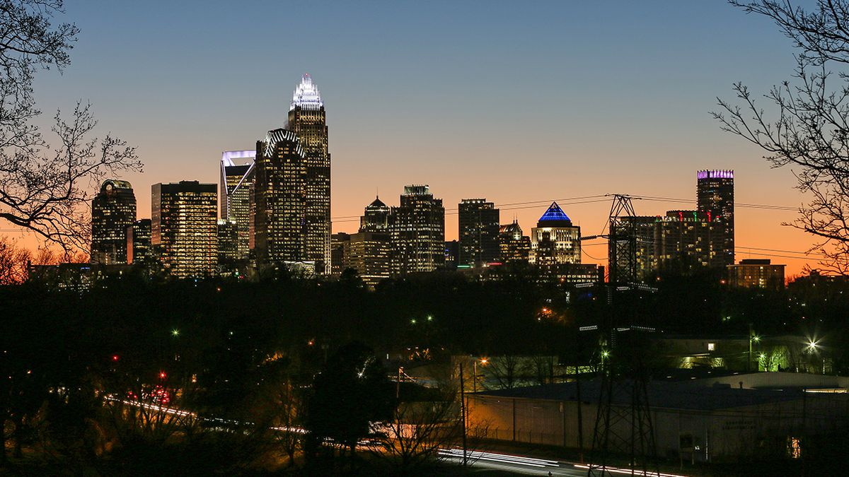 Which local counties are leading Charlotte's booming growth?