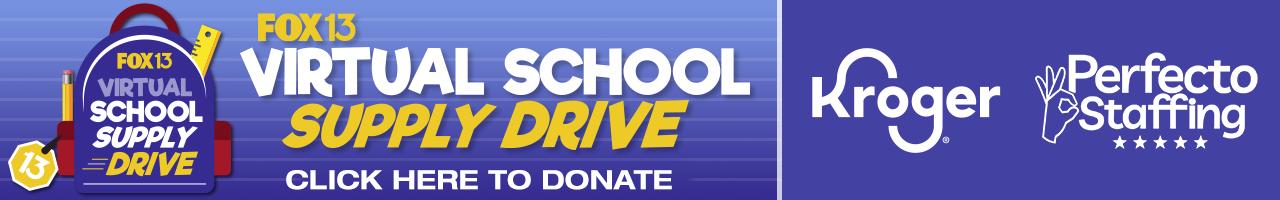 FOX13 School School Supply Drive