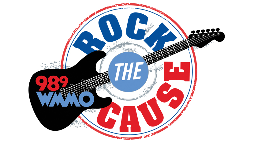 Rock The Cause on 98.9 WMMO