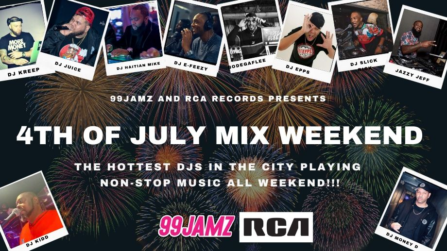 Catch the 4th of July Mix Weekend!
