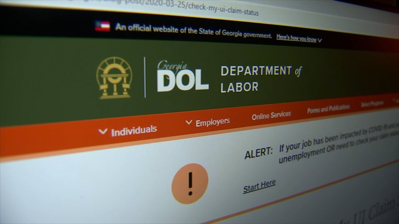 Ga. Dept. of Labor says scammers are trying to access unemployment benefit system