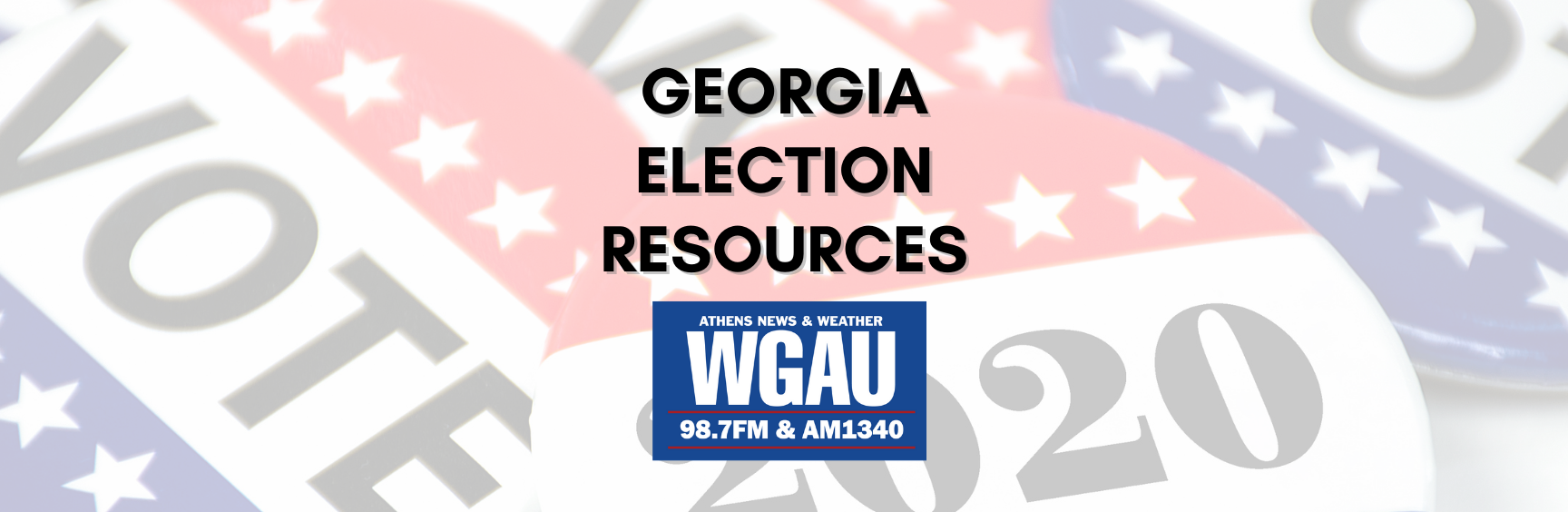 WGAU Election Guide 2020
