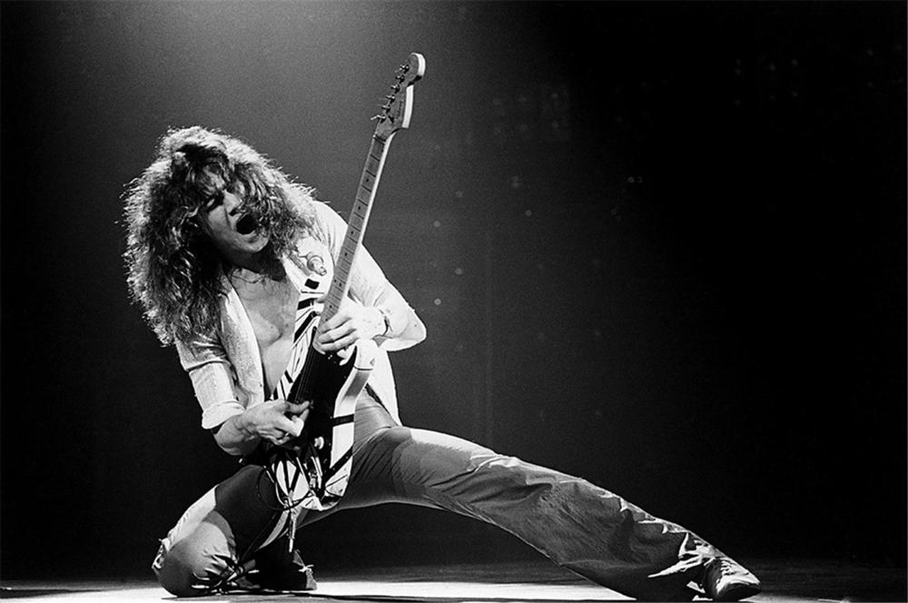 """Los primeros días de Van Halen, según Eddie: """"Tratamos de devolverle la  emoción al rock"""" - La Tercera"""