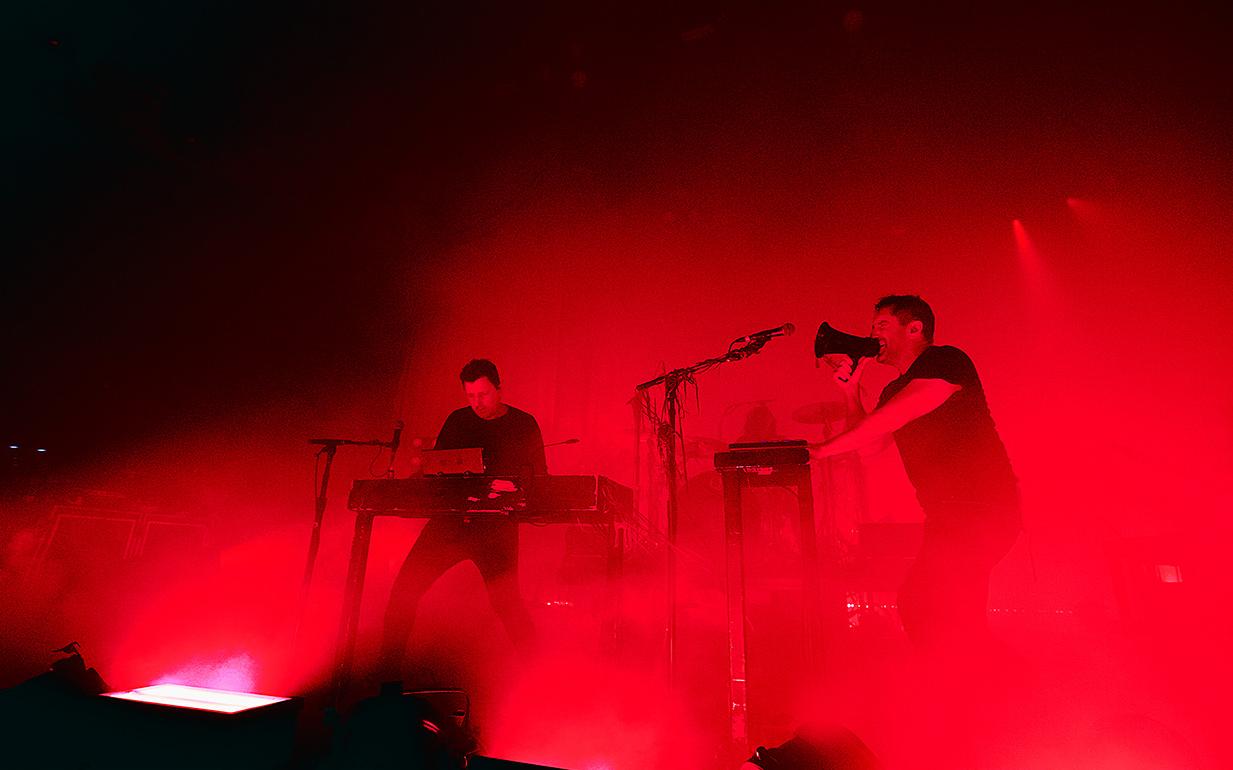 """Isn't everyone"""": escucha la canción que une a Nine Inch Nails y Health - La Tercera"""