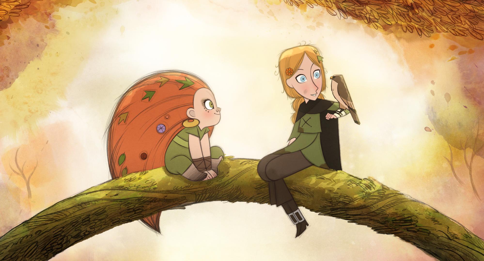 Wolfwalkers: así es el triunfo irlandés de la animación y una de las películas más celebradas del año - La Tercera