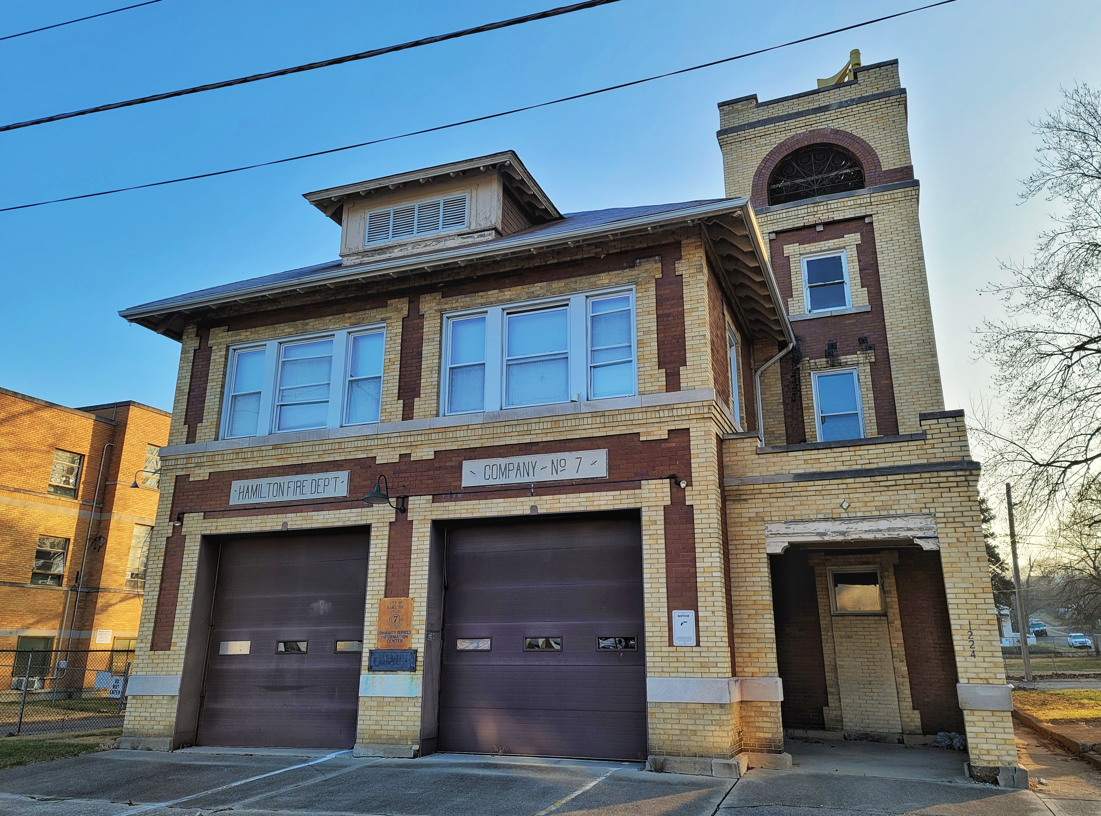 Historic Hamilton Firehouse Could Become New Home Or Business