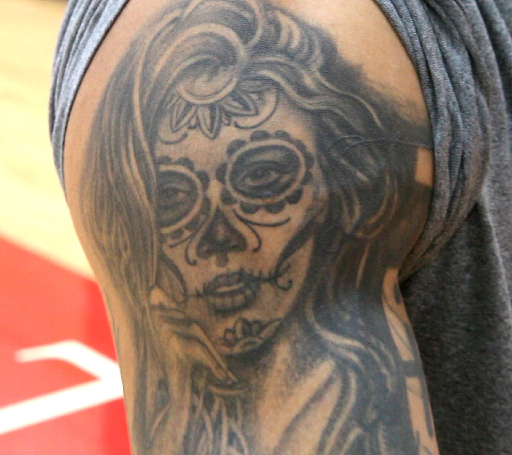 Dayton Flyers Tattoos Tell The Story Of Senior Kyle Davis