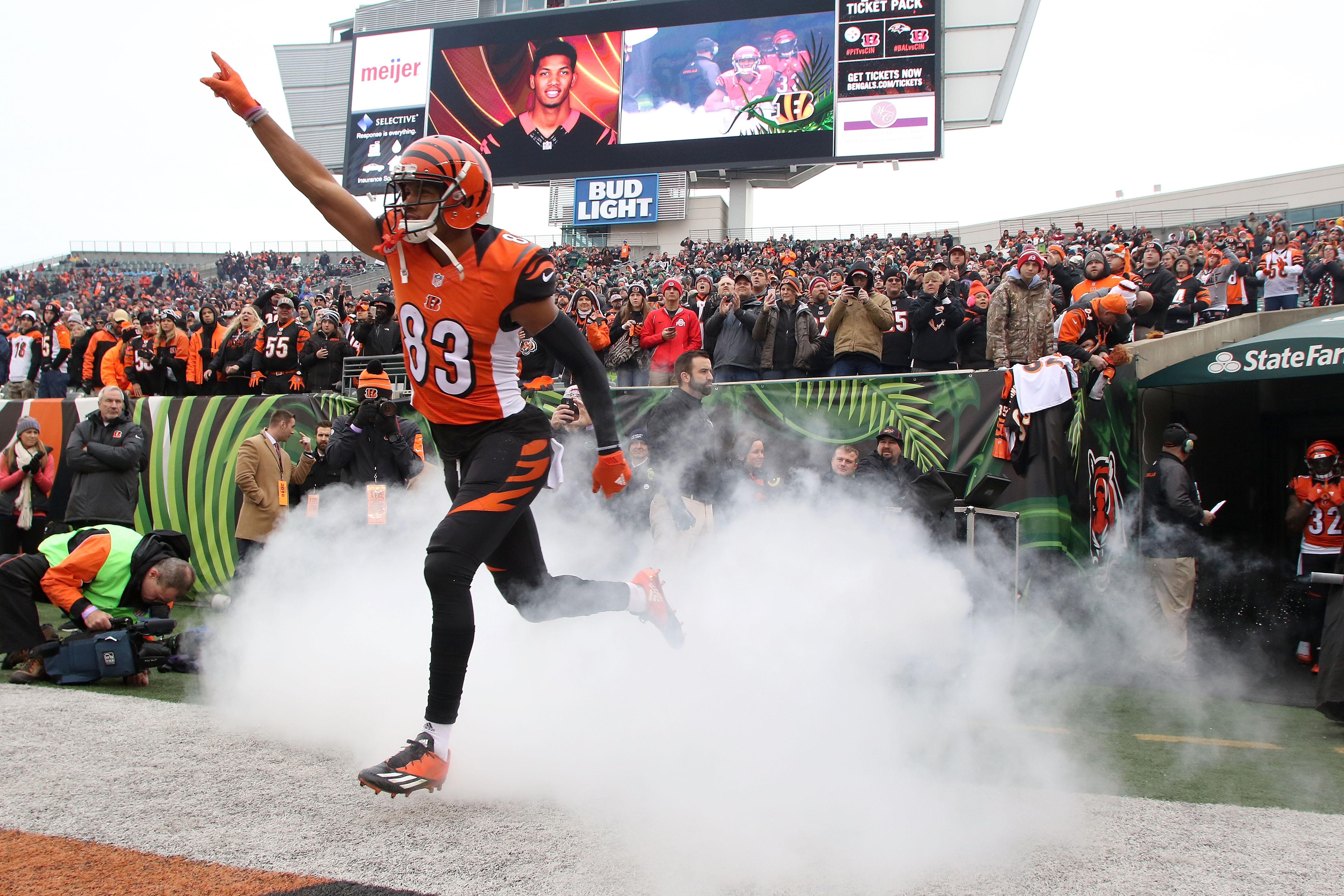 Cincinnati Bengals to wear orange jerseys vs. Buffalo Bills
