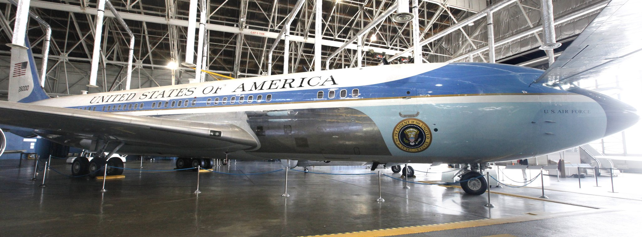 U S Air Force Museum Home To Plane That Transported Kennedy S Body