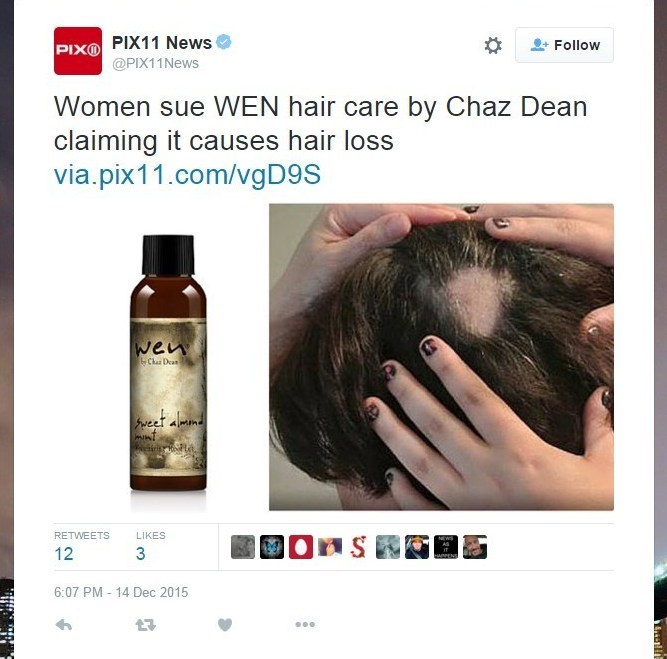 Hundreds Of Women Claim Wen Hair Products Made Them Go Bald