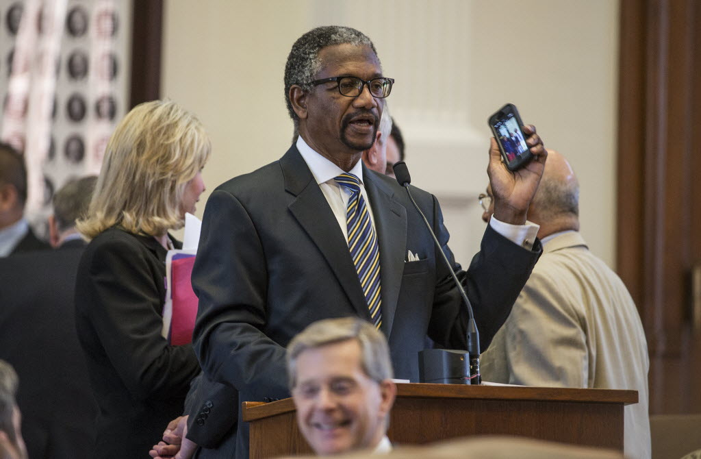 Houston Democratic Rep. Harold Dutton, shown in 2019 file photo, is retaliating against fellow Democrats who stalled his bill to change leadership of the Houston school district. Dutton has joined Republicans in advancing a bill that would prevent transgender youth from competing on teams that align with their gender identity.