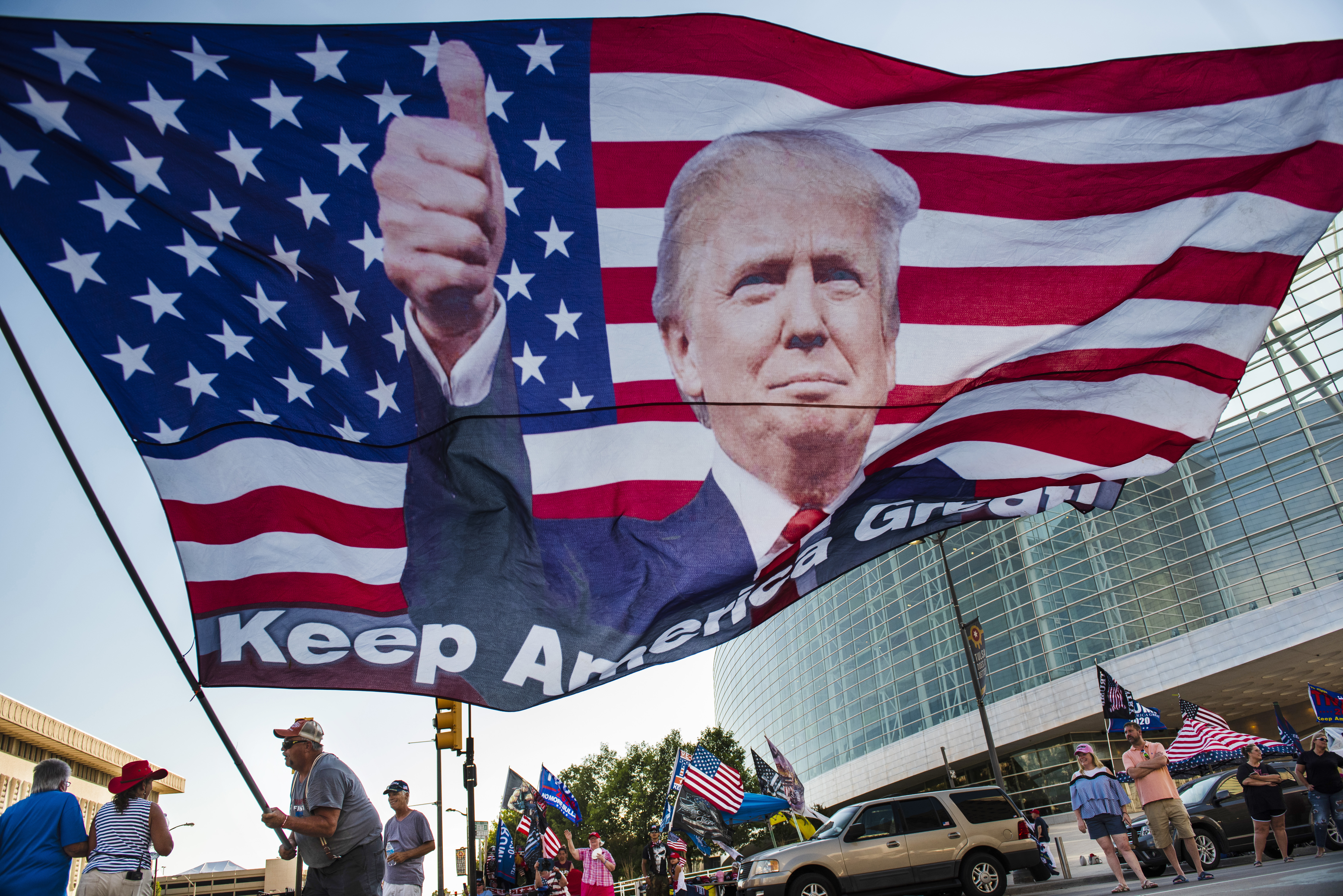 Workers At Trump S Tulsa Rally Test Positive For Covid 19 As Campaign Reboot Promises Cheers Clashes And Contagion
