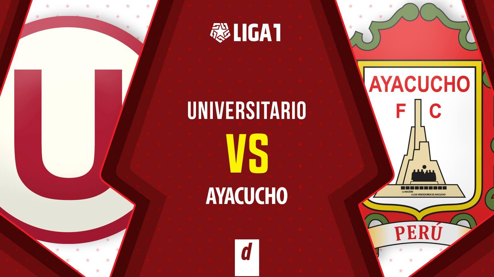 Universitario vs. Ayacucho FC EN VIVO: seguir transmisión de GOLPERU ONLINE