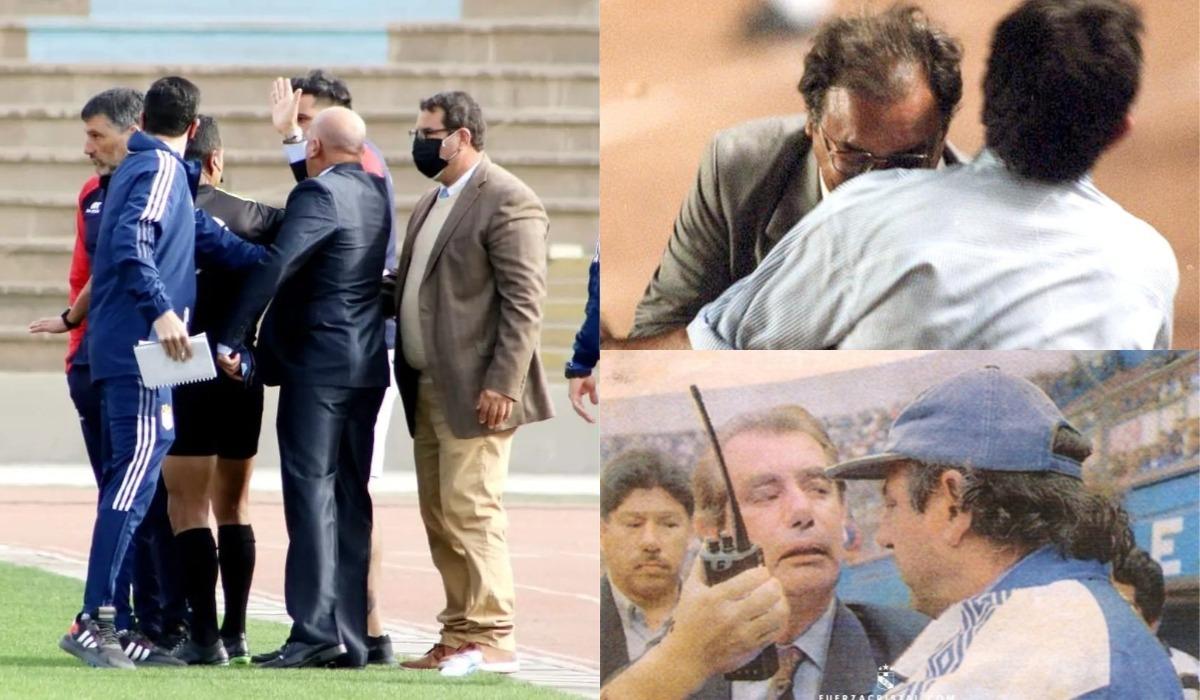 Cabezazos, amenazas e insultos: las peleas de técnicos más recordadas del fútbol peruano