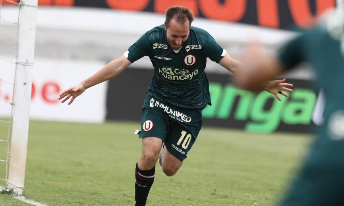 GOLPERU en vivo: Universitario vs. Ayacucho en directo Novick abre el marcador