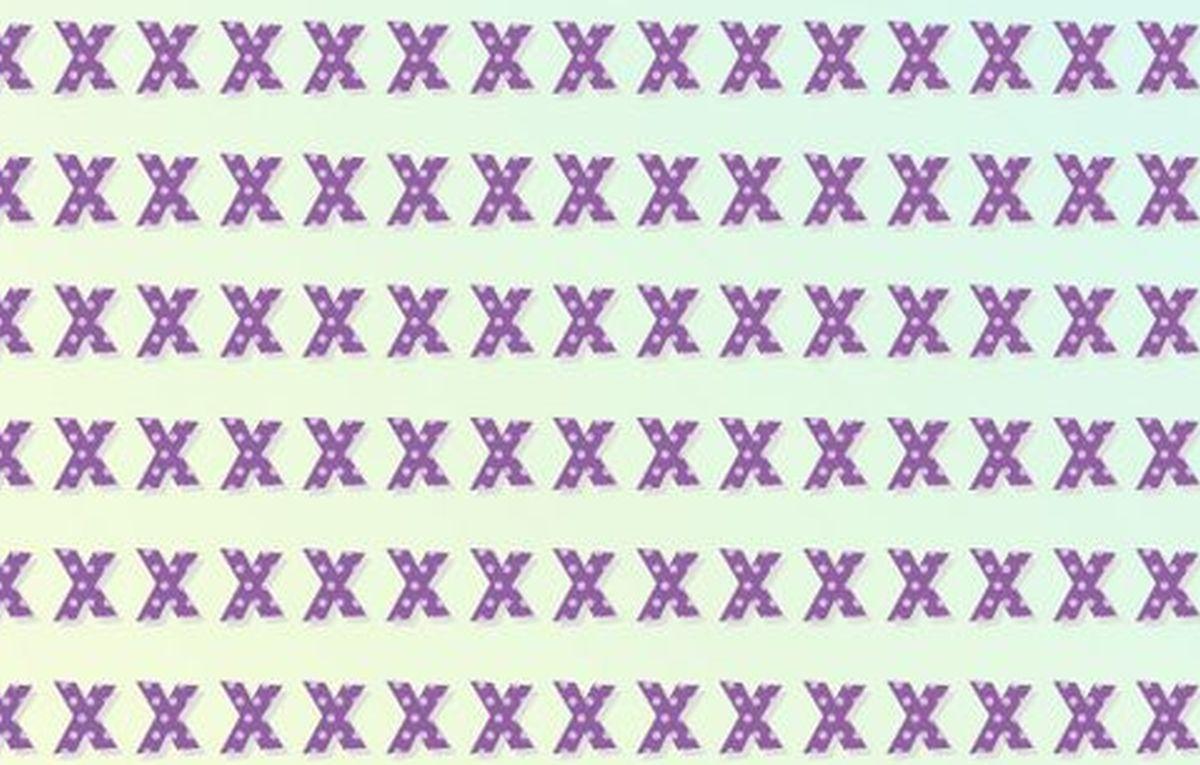 Abre los ojos: ubica la letra 'Y' entre las 'X' de este acertijo visual imposible cuanto antes [FOTO]