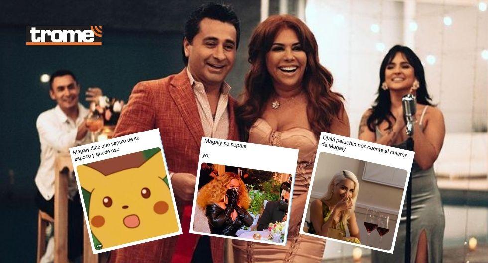 Magaly se divorcia de su notario y usuarios en shock reaccionaron con divertidos memes   FOTOS