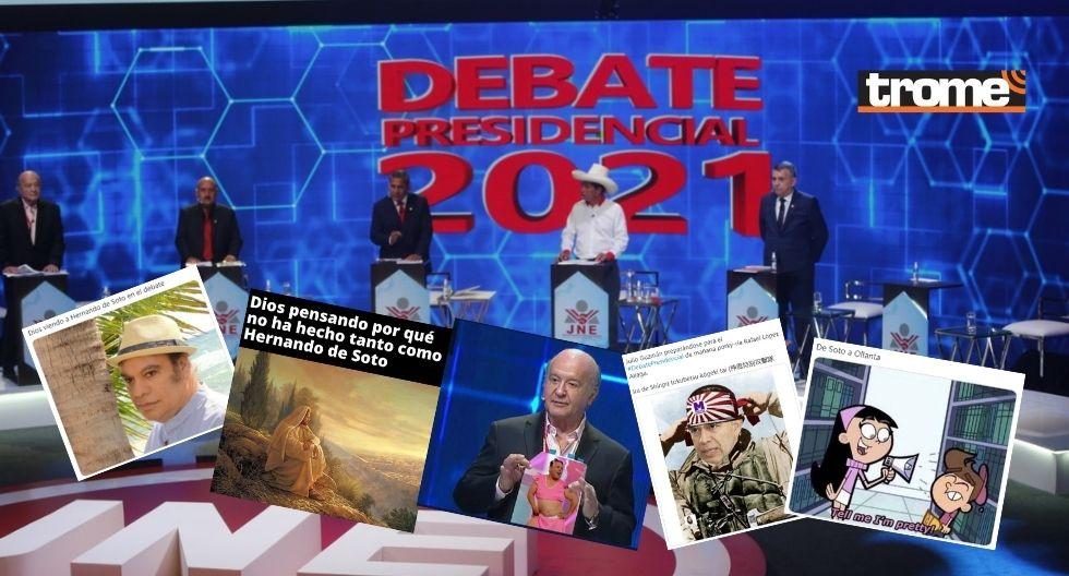 Los memes del debate presidencial de hoy: Divertidos, crueles y muy creativos