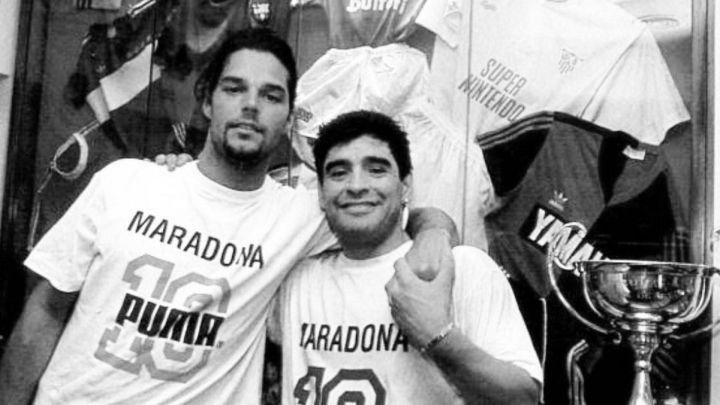 Diego Maradona: ¿quiénes eran los amigos famosos del legendario futbolista argentino? | FOTOS