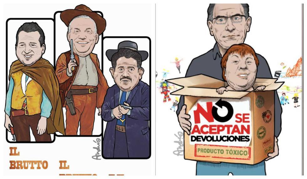 Humor, política y coronavirus: las mejores caricaturas de Andrés Edery en Somos en el 2020