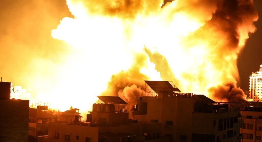 EN VIVO | Se registra un aluvión de ataques aéreos de Israel en Gaza | FOTOS