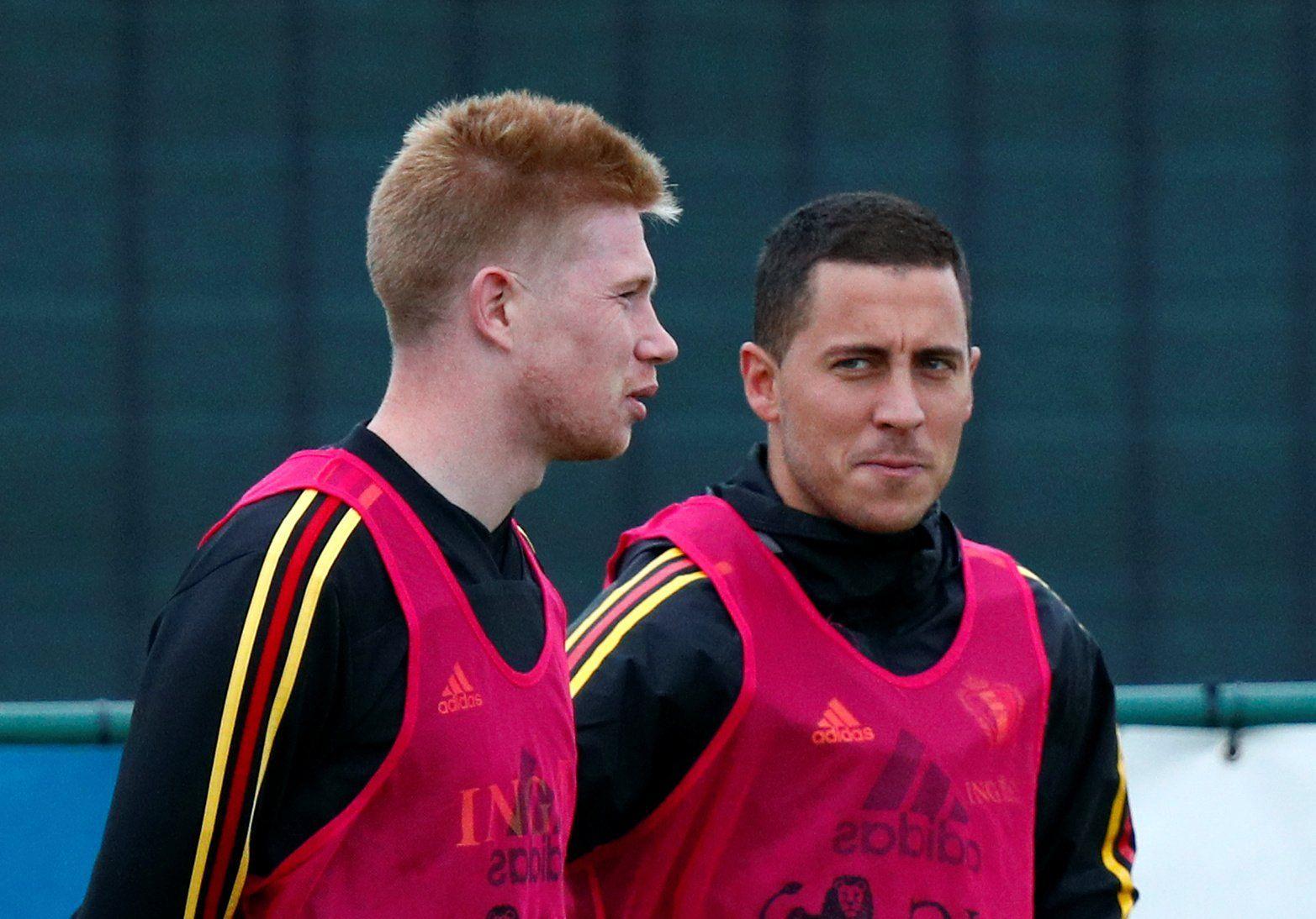 Con Hazard y De Bruyne: el 11 de ensueño que desaprovechó el Chelsea [FOTOS]