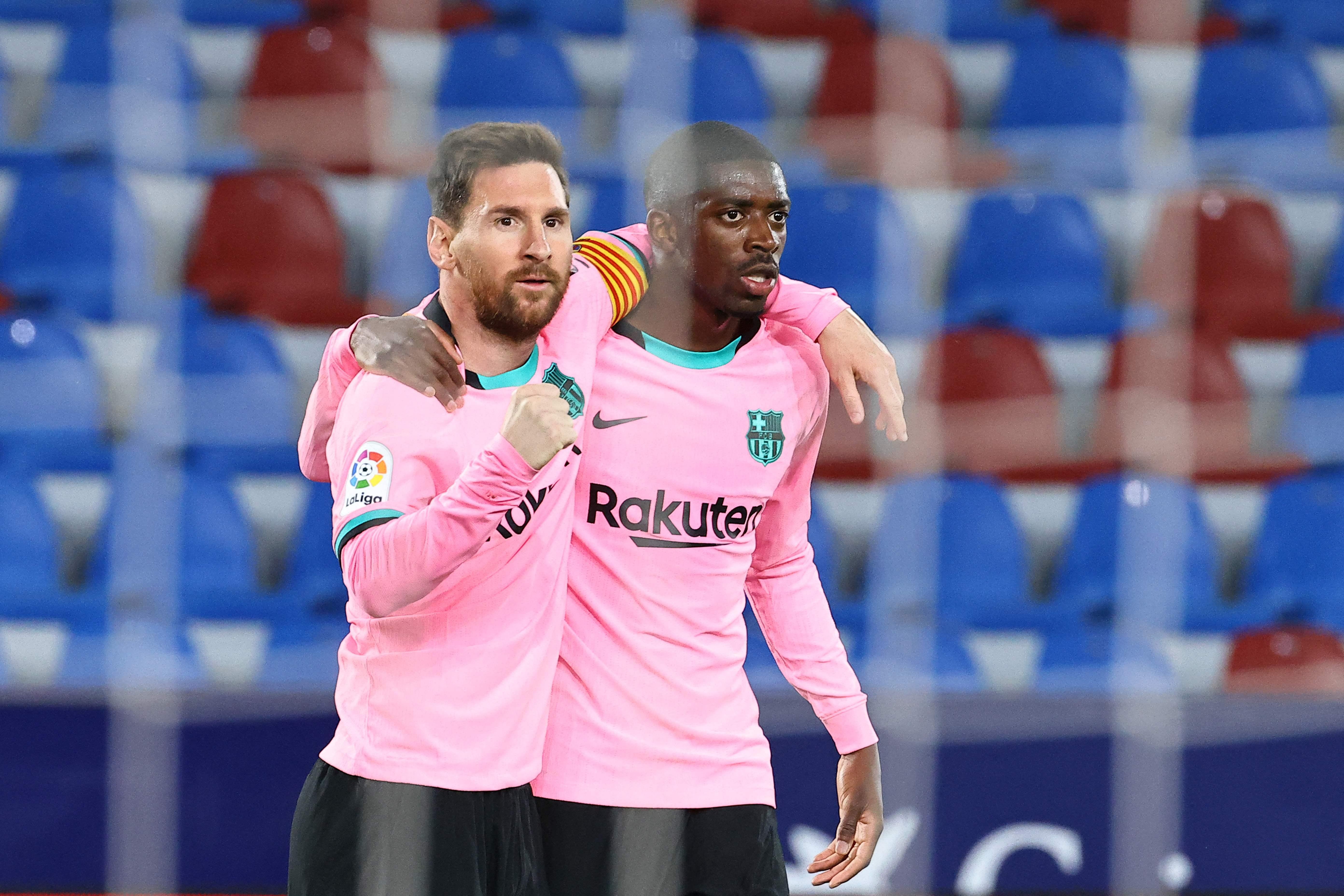 Barcelona igualó 3-3 frente al Levante y complicó sus chances de ganar LaLiga Santander