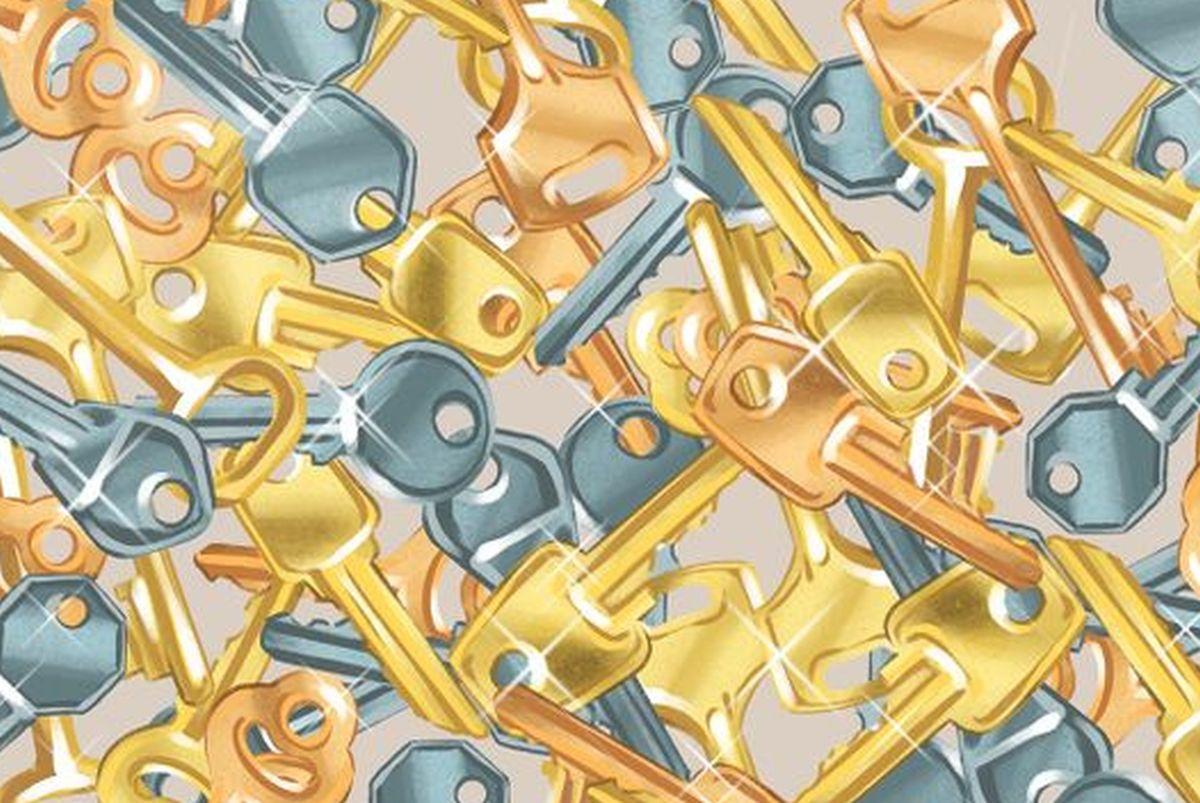 Hazlo en 15 segundos: halla la campana entre las llaves de este acertijo viral del momento [FOTO]