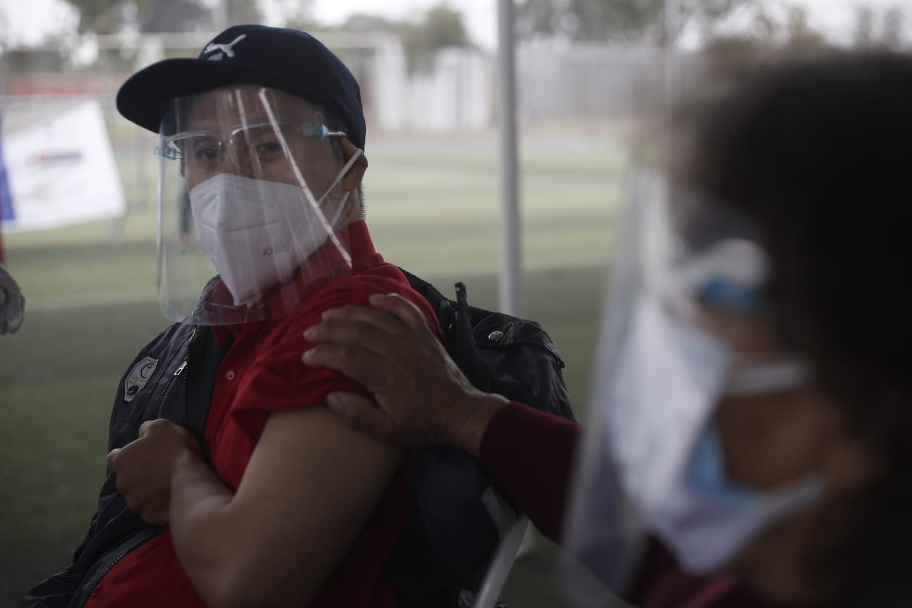Así se desarrolla la vacunación contra el COVID-19 de personas con síndrome de Down en Lima | FOTOS