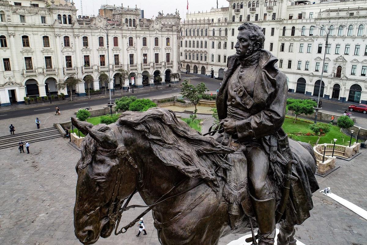 Centro Histórico: así luce el restaurado monumento de José de San Martín | FOTOS