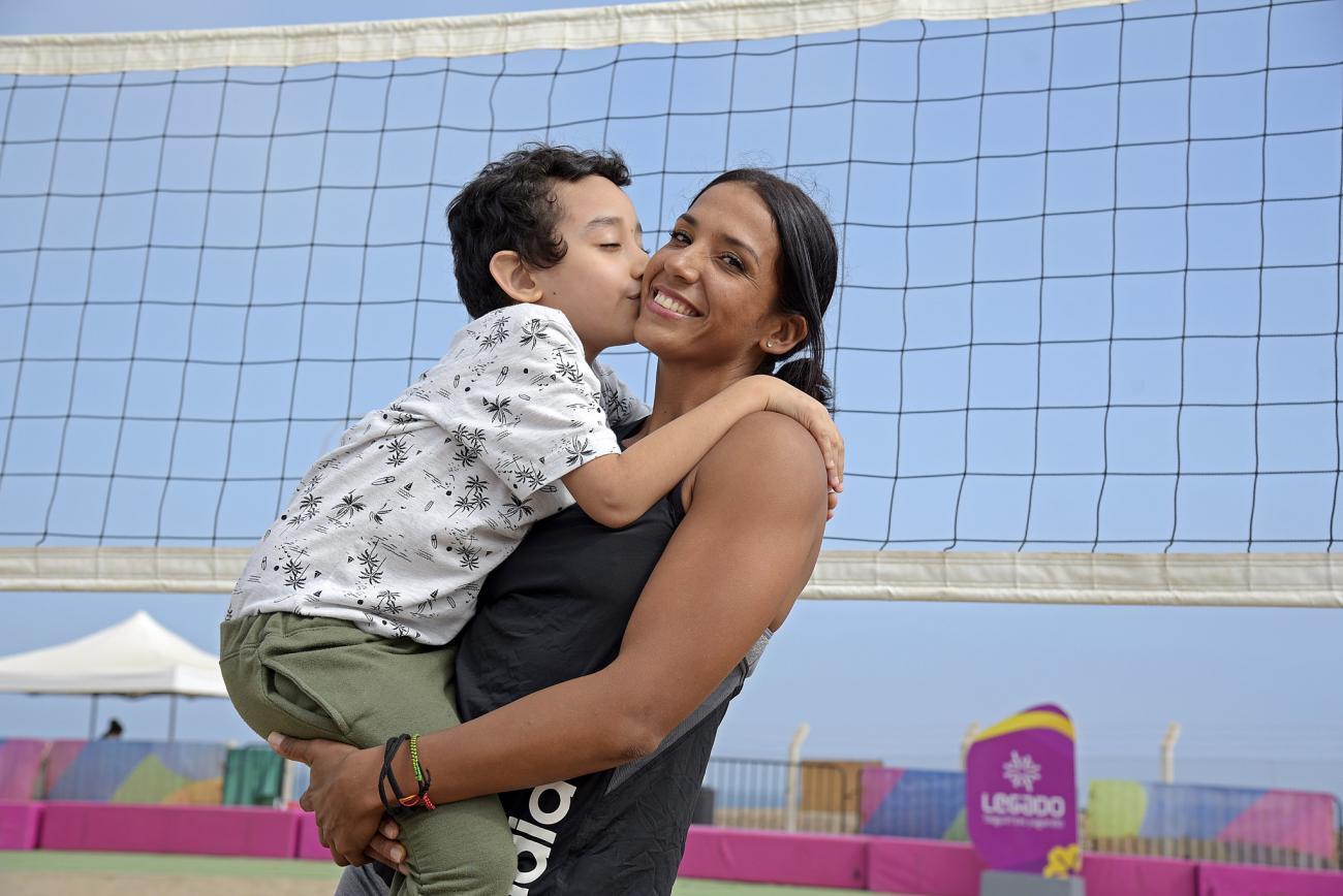 """Madres deportistas: """"Nuestros hijos son motivo de cada entrenamiento, de cada esfuerzo por alcanzar nuestros sueños"""""""