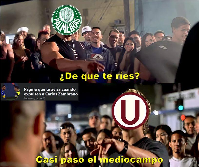 Universitario: Estos son los mejores memes tras su derrota ante Palmeiras