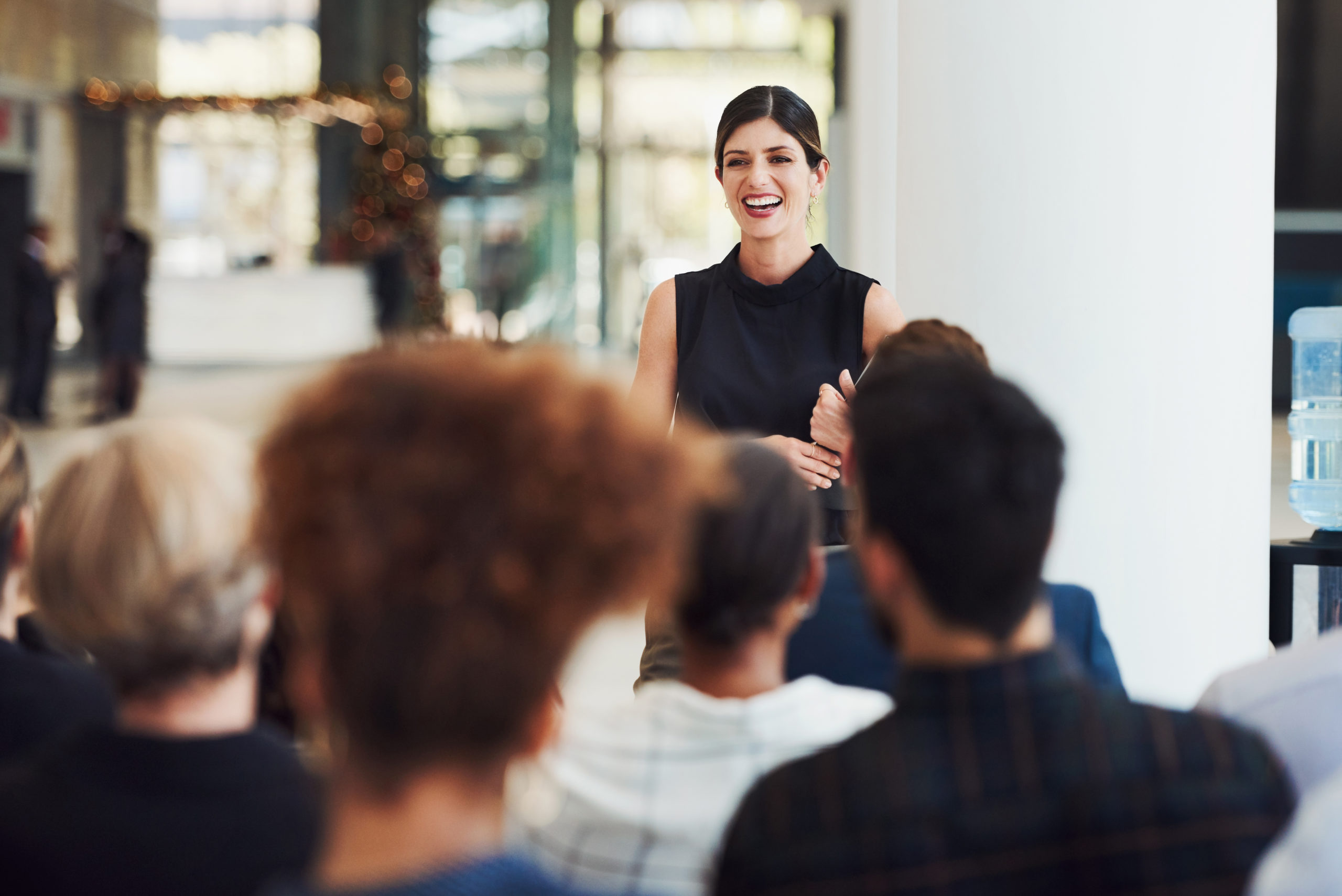 El arte del speaker: cómo hablar en público y no aburrir a la audiencia