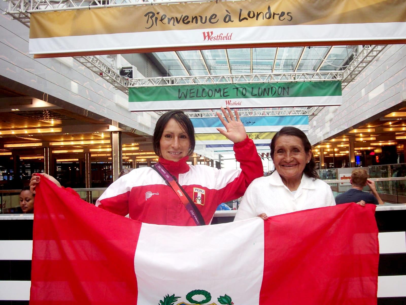 Gladys Tejeda y Doña Marcelina: la mujer que la inspiró a correr por sus sueños