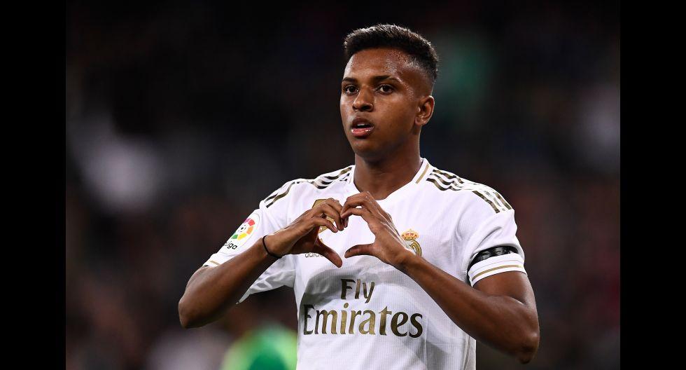 10.- Rodrygo Goes (Real Madrid), en 91.6 millones de dólares. (Foto: AFP)