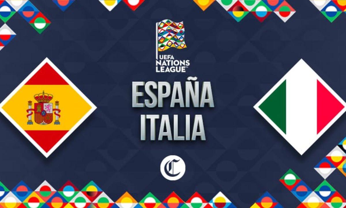 España vs. Italia: hora y dónde ver la semifinal de la Liga de Naciones