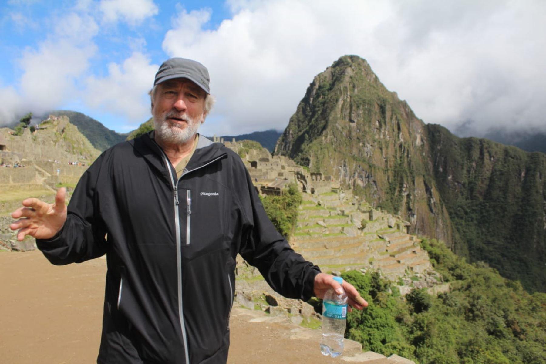 Robert de Niro: las imágenes que nos recuerdan su paso por el Perú