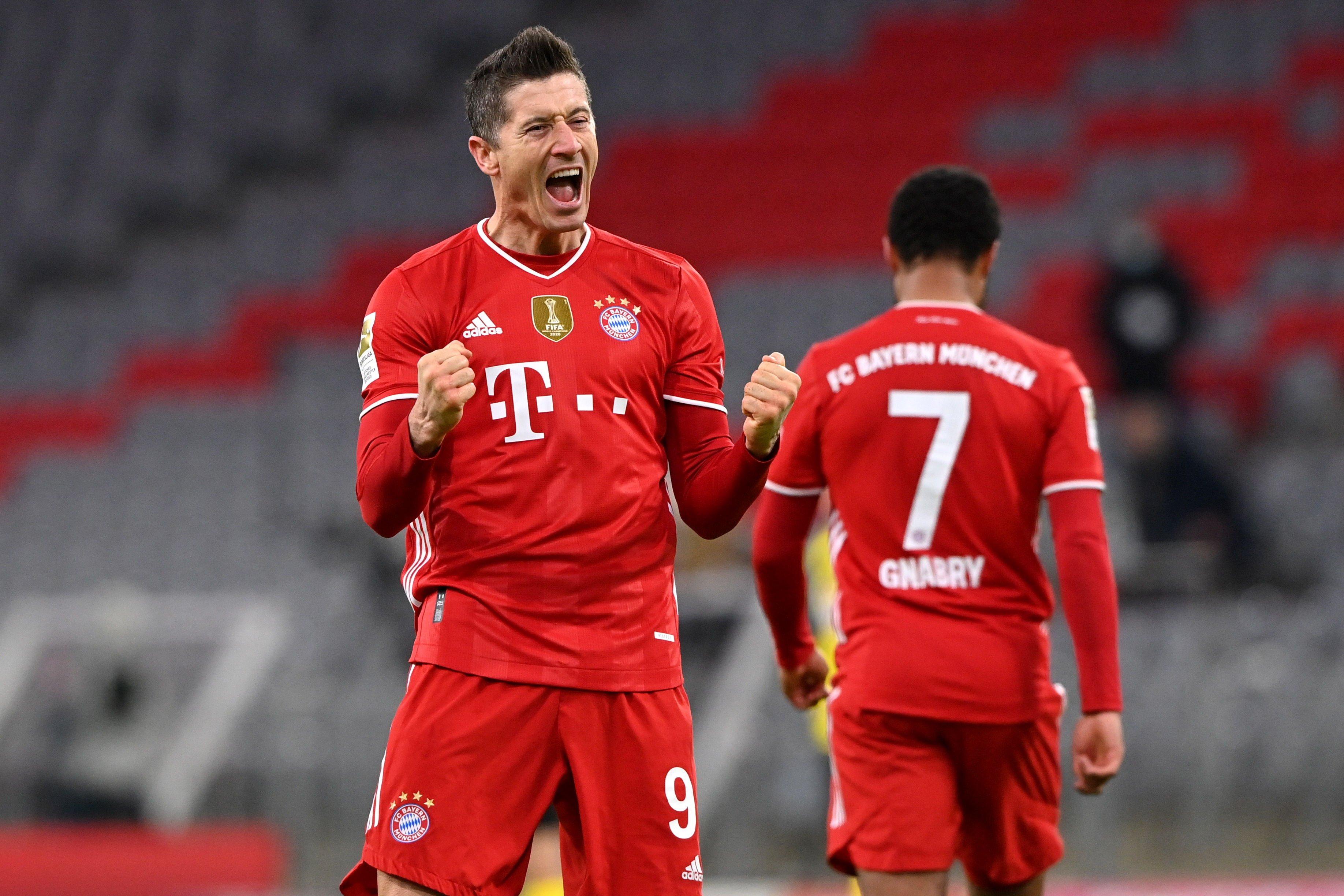 El hombre récord del Bayern: Robert Lewandowski igualó cifra histórica del legendario Gerd Müller