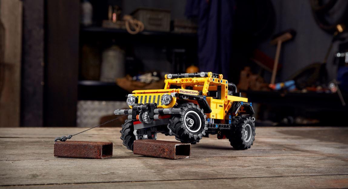 Lego Technic presenta su nuevo modelo del icónico Jeep Wrangler Rubicon | FOTOS