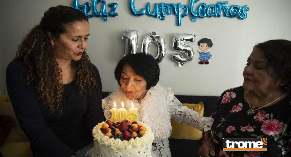 Doña Victoria cumple 105 años sanita, solterita y 'sin compromiso' | FOTOS