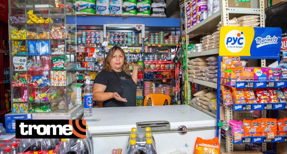 Mamita vendió cachangas y cafés en la calle y ahora es dueña de bodega