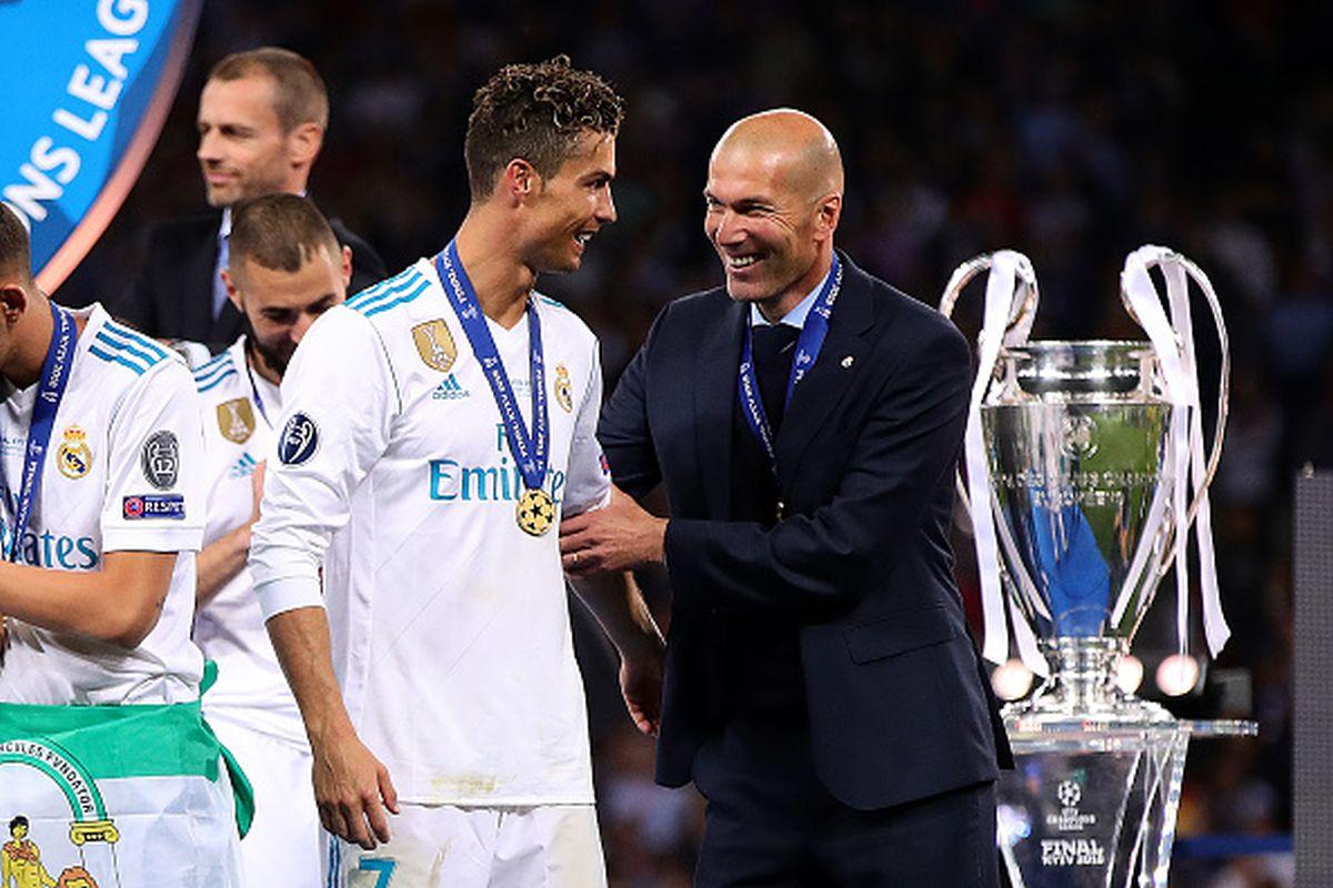 """""""Atracción fatal"""": Juventus se lanza por Zidane para juntarlo nuevamente con 'CR7′"""